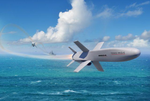 Teseo Mk2/E anti-ship missile