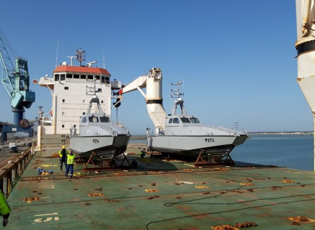 Nigerian Navy C-Falcon interceptor craft