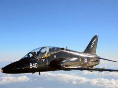 Royal Navy Hawk trainer