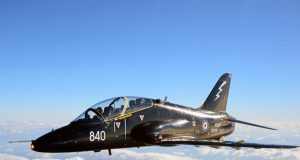 Royal Navy Hawk trainer