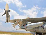 Derby missile on wingtip