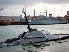 Royal Navy Madfox USV