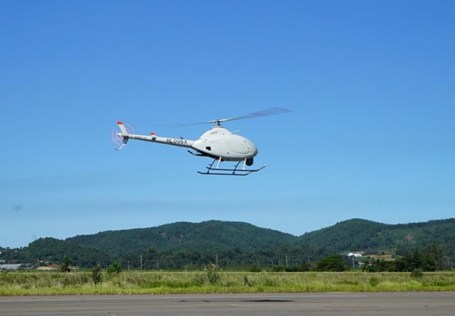 NI-600VT unmanned helicopter