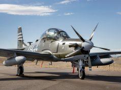 AFSOC CAA Super Tucano honoring WW2 Air Commandos