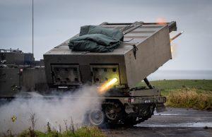 British Army M270 MLRS