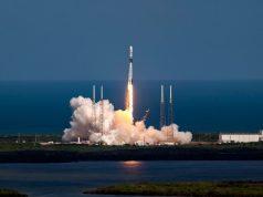 Falcon 9 launch vehicle carrying GPS III SV 03