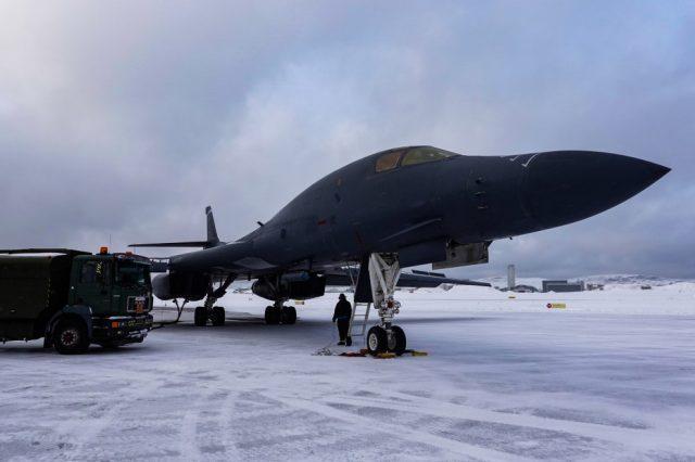 B-1B in the Arctic