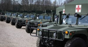 US donation of 29 Humvees to Albania
