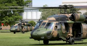 Australian Army Black Hawk