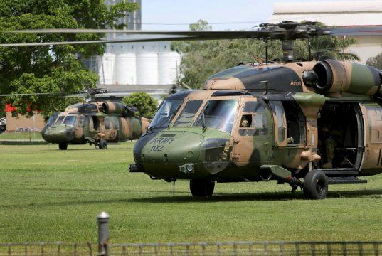 Australian Army Black Hawk