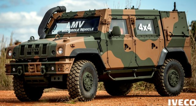 Brazilian Army receives first LMV-BR 4x4 from Iveco