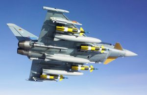 German Eurofighter chaf and flare