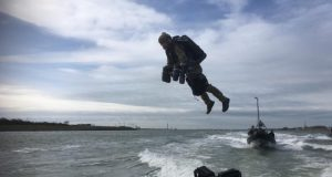 Dutch Marines Gravity suit trials