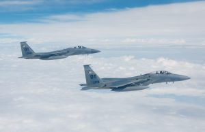 F-15C record air-to-air missile shot
