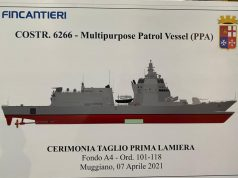 6th PPA for Italian Navy