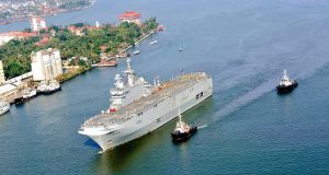 FS Tonnerre arriving in India