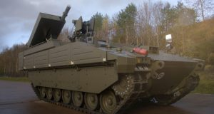 Ares Ajax with Brimstone missile for anti tank capability