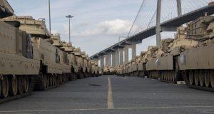 M1 Abrams tanks