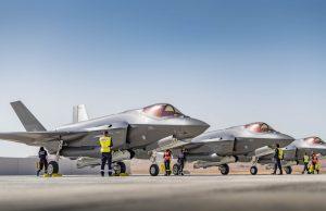Israeli F-35s at Nevatim Air Base