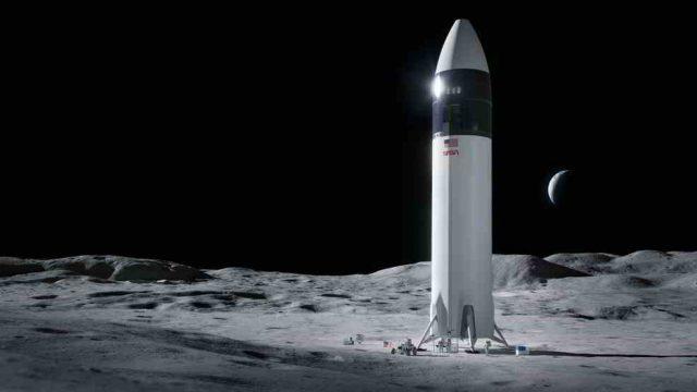 SpaceX Starship human lander