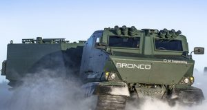 Bronco III all-terrain vehicle