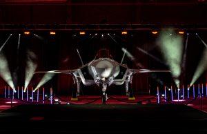Royal Danish Air Force F-35A handover ceremony