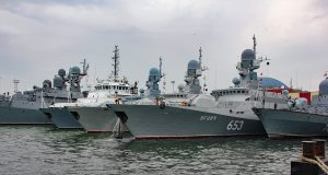 Russia's naval fleet in Black Sea