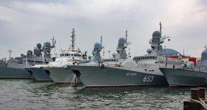 Russia's naval fleet in Black Sea