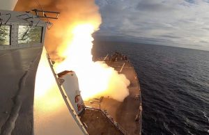 USS John Finn SM-6 launch