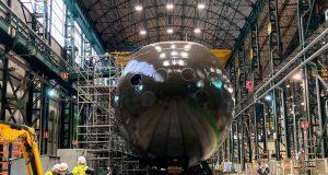 Spanish S-80 submarine Isaac Peral