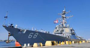 USS The Sullivans UK Carrier Strike Group deployment