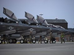 USMC F-35Bs in the UK