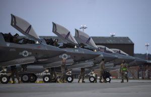 USMC F-35Bs in the UK