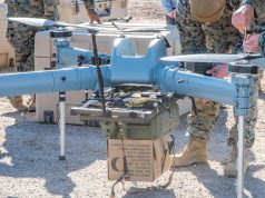 US Marine Corps TRUAS resupply drone trials