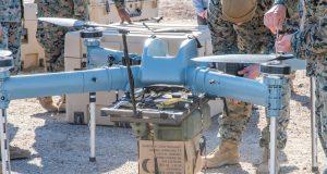 US Marine Corps TRUAS resupply drone trials