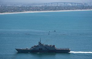 USS Freedom LCS-1 in San Diego