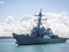 USS Arleigh Burke in Spain