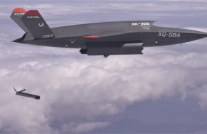 XQ-58A Valkyrie deploys the ALTIUS-600 small UAS