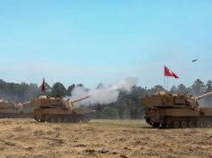 M109A7 howitzers