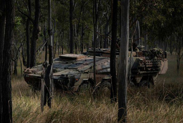 Australian Army Boxer vehicle
