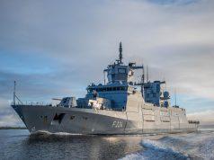Third F125 frigate FGS Sachsen Anhalt