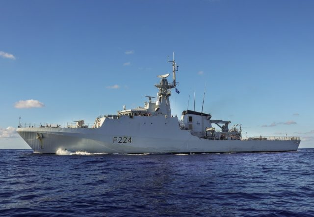 River-class OPV HMS Trent