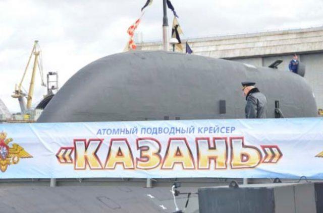 Yasen-M submarine Kazan commissioning