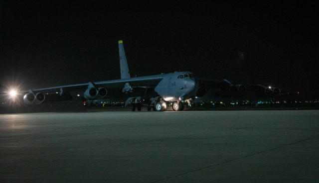 B-52H Stratofortress in Qatar