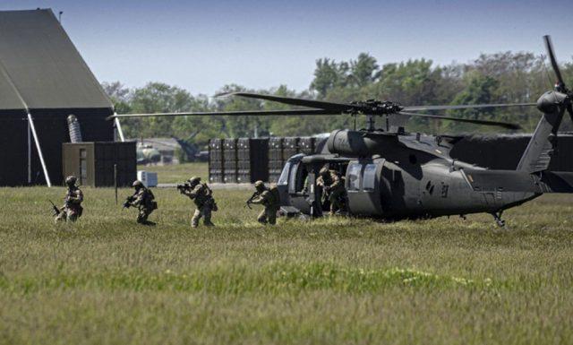 R-SOCC operators during Black Swan 21 in Hungary
