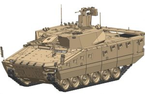 Lynx IFV with StrikeShield APS