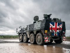 Boxer armored vehicle