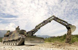 Pionierpanzer 3 Kodiak engineering vehicle