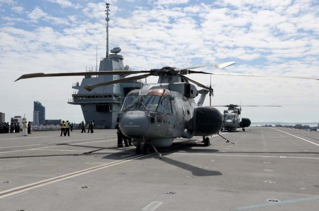 Royal Navy to retire Crowsnest airborne early warning system by 2029
