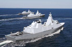 Royal Navy Inspiration-class frigates